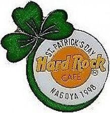 Hard Rock Cafe NAGOYA 1998 St. Patrick's Day PIN Shamrock on HRC Logo #6101