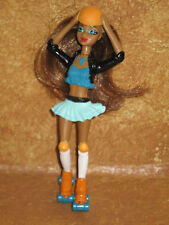 My Scene Barbie McDonald's Happy Meal Toy Roller Blade Girl Brown