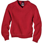 Dickies Sweater Unisex Boy Girl V-Neck Pullover Sweater Knit KW3951/951 Uniforms