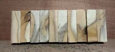 10 x WOODTURNING OFFCUTS IRISH FIGURED YEW PEN BLANKS !