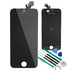 Black LCD Touch Screen Digitizer Glass Repair Assembly for iPhone 5 w/Tool Kit