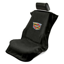 Seat Armour Universal Black Towel Front Seat Cover with New Cadillac Logo