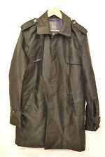 ARMANI EXCHANGE BLACK TRENCH COAT SIZE M ##KINCL13A