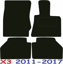 BMW X3 a medida Alfombrillas De Coche De Calidad De Lujo 2011-2017