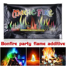 New FIRE POWDER MAGIC TRICK COLOURED RAINBOW FLAMES BONFIRE FIREPLACE