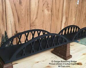 Railroad Bridge - G Gauge - G Scale Bowstring Miniature Train & Railroad Scenery
