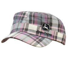John Deere Plaid Engineer Girls Pink Hat (CPLP48330) (PN:  CPLP48330)