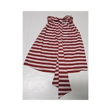 NWT So Low Girls Red White Striped Strapless Halter Dress Small 7/8
