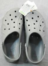 Crocs 15907-025 Mens Gray Ralen Clogs Shoes Sandals  NWT  Size 13
