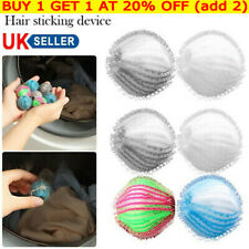 6x Remover Washing Balls for Laundry Lint Reusable Dryer Balls Pet Hair Dryer `