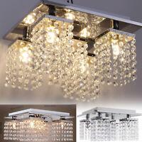 Elegant Crystal Chandelier Modern 5 Ceiling Light Lamp Pendant Fixture Lighting