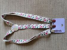 New Claire's Girls Belt Suspenders with Unicorn