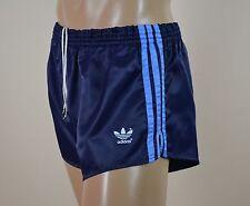 ADIDAS Glanz Nylon Shorts!!!  Vintage Short Sporthose Dunkelblau-Gr.:L-6 (1243)