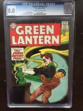GREEN LANTERN #32 CGC VF 8.0; CM-OW; Kane cover/art!