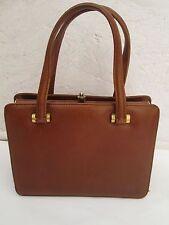 AUTHENTIQUE  sac à main COLOMBO Milan modèle exclusif cuir TBEG vintage bag