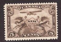 #C1 - Canada - 1928 - 5c - Air Mail - MNH - F/VF -  superfleas - cv$25