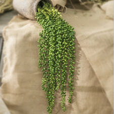 Artificial Succulents Plants String of Pearls Hanging Garden DIY Decoration
