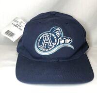 Vintage Toronto Argonauts w 3 AUTOGRAPHS ON BILL CFL Athletic Starter Hat Cap