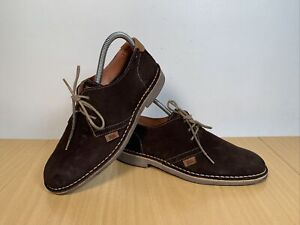 Xti Territory Women's Brown Suede Flat Shoes Size EU 38 UK 5
