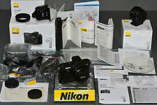 nikon V1, 10 2.8, mint, Ft-1, SB-N7, original boxes, manual/papers,hardly used,