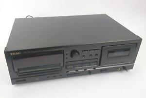 Teac AD-500 Combo Compact Disc Player / Reverse Cassette Deck - TESTED & WORKING