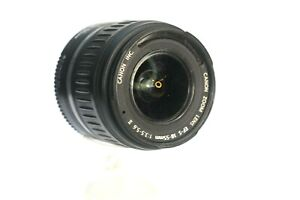 Canon EFS 18 - 55 Lens F3.5- 5.5 For Parts As Is