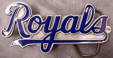 MLB Pewter Belt Buckle Kansas City Royals NEW