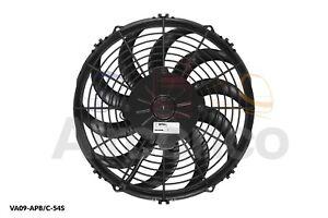 "Spal Axial Fan, VA09-AP8/C-54S, 12v (Push) 11.0"" (280mm) - Genuine Product"