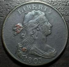 1803 S-262 Draped Bust Large Cent 1c - Nice!