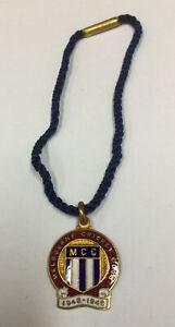 Vintage Melbourne Cricket Club Emanel Membership Medallion 1948-49