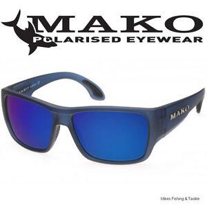 Mako COVERT - Blue Mirror Glass Sunglasses Polarised - M60-G1HR6
