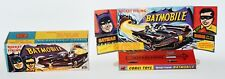 Reprobox Corgi Toys Nr. 267 - Rocket Firing Batmobile mit Innendisplay