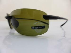 Serengeti Sunglasses NUVINO Satin Black - Polarised PhD 555 Photochromic Lens