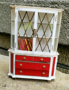 Petite Princess Doll House Fantasy Furniture 1964 IDEAL Treasure Trove Cabinet