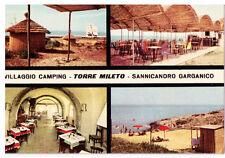 CARTOLINA - PUGLIA - FOGGIA - SANNICANDRO GARGANICO 522 - VILLAGGIO CAMPING