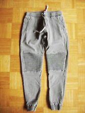@ IN-Style @ Jeans Pumphose grau weicher Bund viele Details Gr. 38 Size M L30