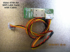 VIZIO 470I-A0 LED LCD TV WIFI module Board 323C163191YD with cable - See List