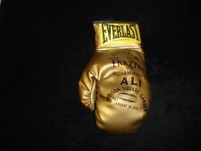 January 28, 1974 Joe Frazier vs Muhammad Ali @ MSG Souvenir Gold Boxing Glove