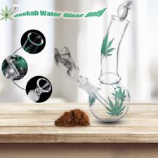 Green Maple Hookah Water Glass Bong Smoking Pipes Glassware Shisha Tobacco
