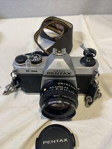PENTAX K1000 35mm SLR Film Camera with 50 mm lens & strap