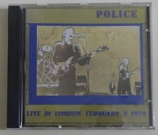 The Police - Live in London February 9, 1979 - Seagull records  CD 011