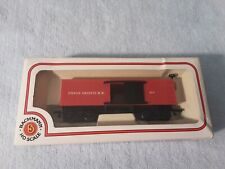 New in Box HO Bachmann 34' Old Time Red Box Car Union Pacific
