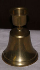 Table bell of Silver Bell Candle Holder,brass or silver, older pc, really nice