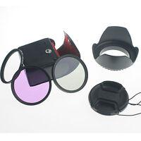 77MM Lens Filter Kit UV CPL Circular Polarizing FLD for Canon EOS 6D 5D 24-105mm