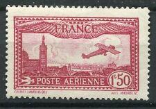TIMBRE FRANCE PA POSTE AERIENNE N° 5 *  AVION SURVOLANT MARSEILLE