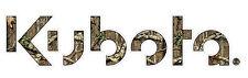 "36"" Camo Kubota Utility Tractor Large Sticker Decal  Corn Hole Game"