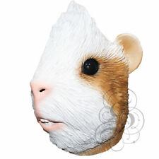NEW ! Latex Animal Realistic Guinea Pig Fancy Dress Costume Halloween Masks