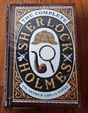 """The Complete Sherlock Holmes"" by Arthur Conan Doyle Leather Bound NEW Sealed B3"