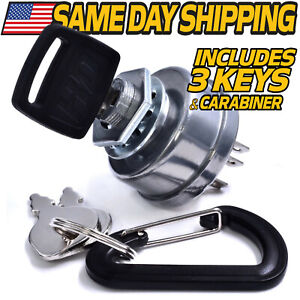 Ignition Switch fits Craftsman Riding Lawn Mower Lawn Tractor STD 365402 5 Spade