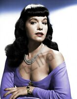 """Bettie Page Photo Retro Pin Up 011 Printed in Photo Lab 8""""x10"""" in"""